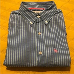 Abercrombie & Fitch dress shirt size XL GUC